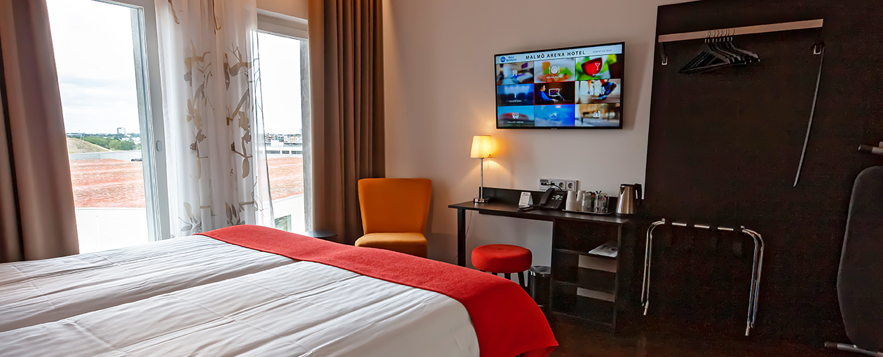 malmö arena hotel premium king room