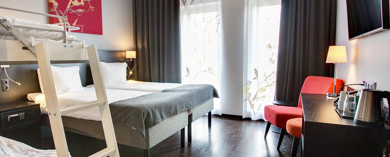 malmö arena hotel premium family room