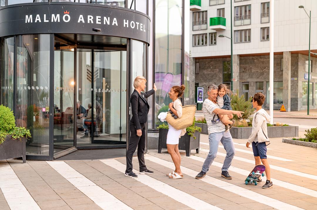 malmö arena hotel hotellentre utomhus hyllie