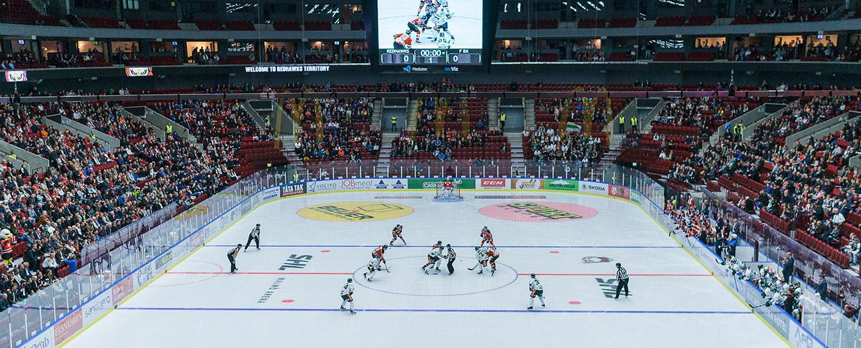 Hockeypaket Malmö Arena Hotel